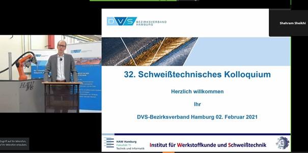 32. Schweißtechnisches Kolloquium Am 02.02.2021